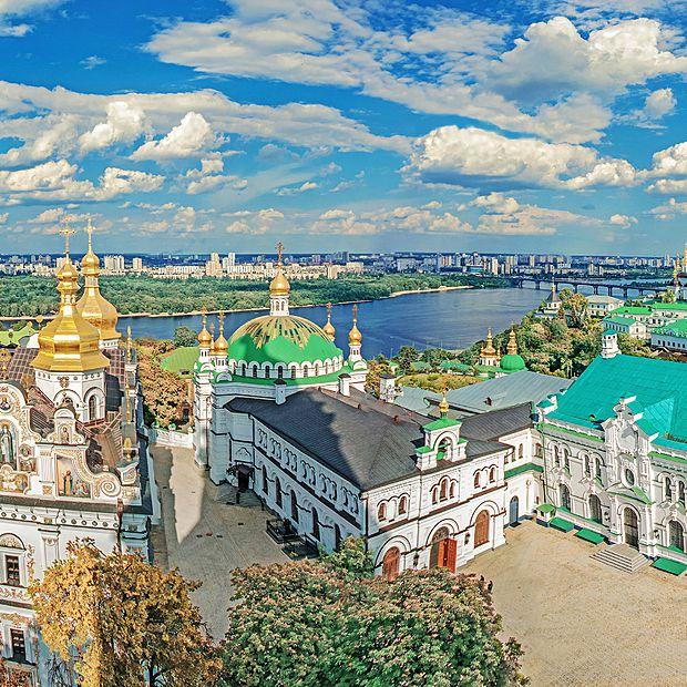 Vue sur Kiev, Ukraine