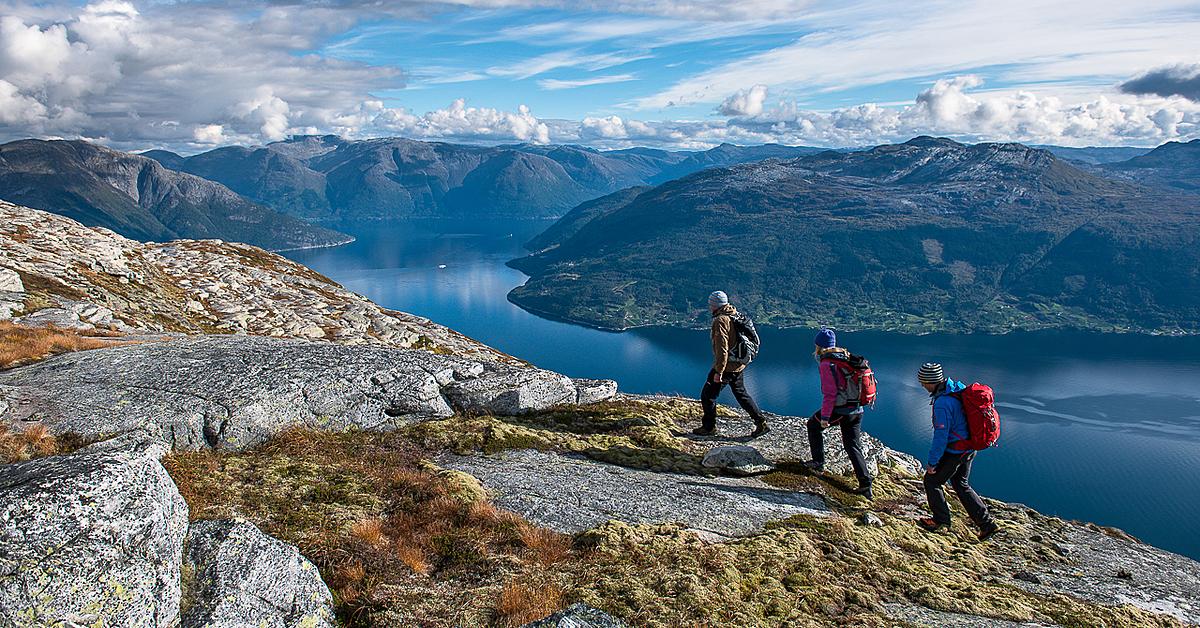 Voyage à pied Norvège : Randonnée en liberté aux Lofoten