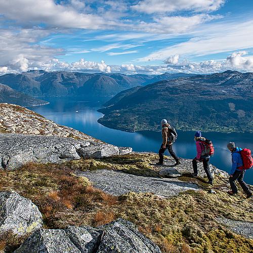 Randonnée en liberté aux Lofoten -