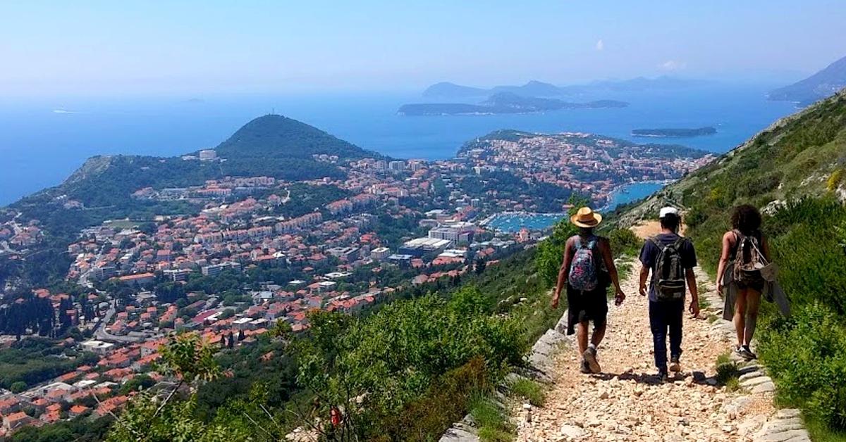 Voyage à pied : Randonnées autour de Dubrovnik