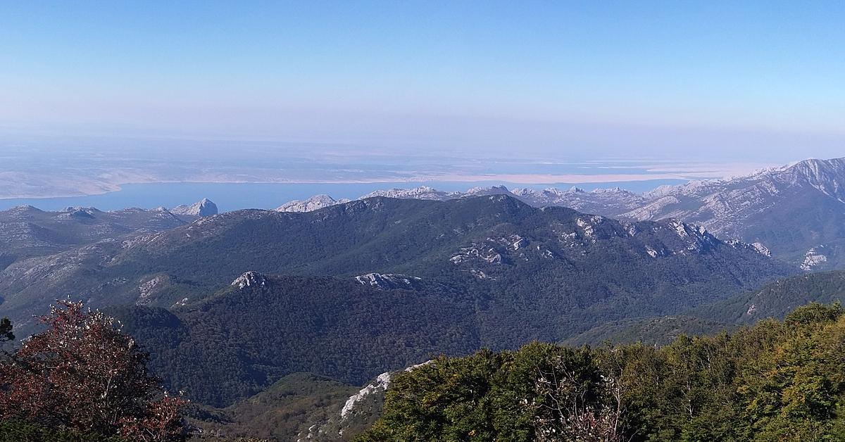 Voyage à pied : Randonnées dans le massif du Velebit et alentours