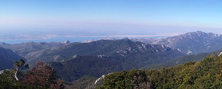 Randonnées dans le massif du Velebit et alentours