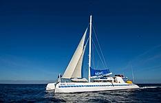 Catamaran et plongée