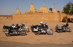 Le Rajasthan en Royal Enfield : « La terre des Maharajas »