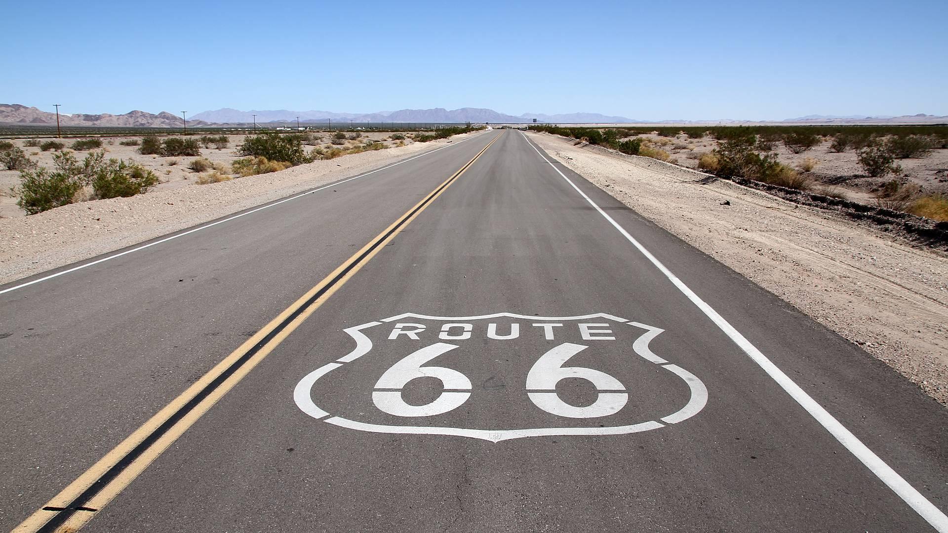 Route 66 self drive in moto