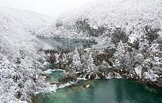 Féerie hivernale aux lacs Plitvice et Zagreb