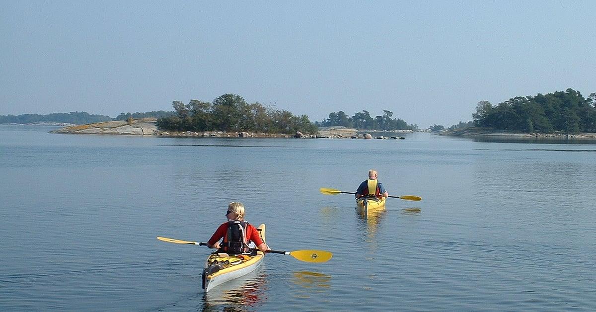 Voyage sur l'eau : Week-end à Stockholm et kayak de mer (spécial été)