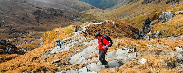 Trekking del Khopra Ridge