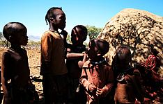 Ma tribu guidée dans la brousse