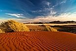 Le désert en Mongolfière