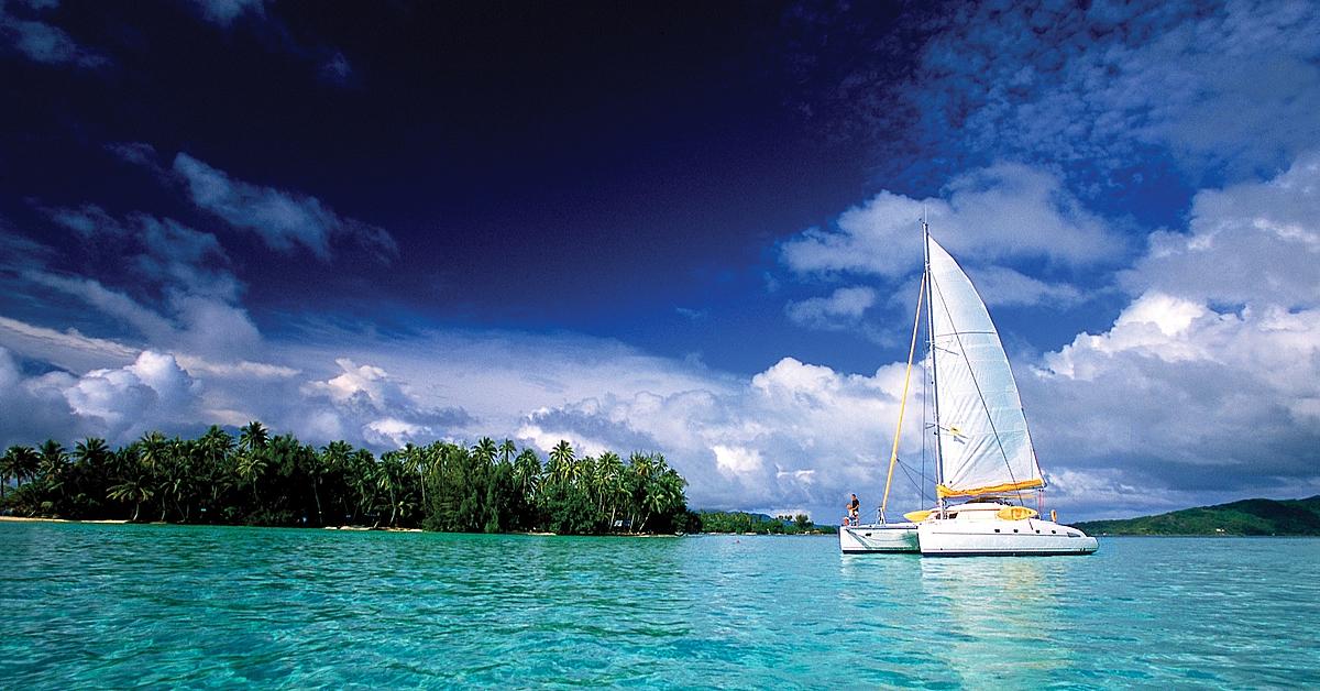 Voyage sur l'eau : En voilier sur les lagons polynésiens