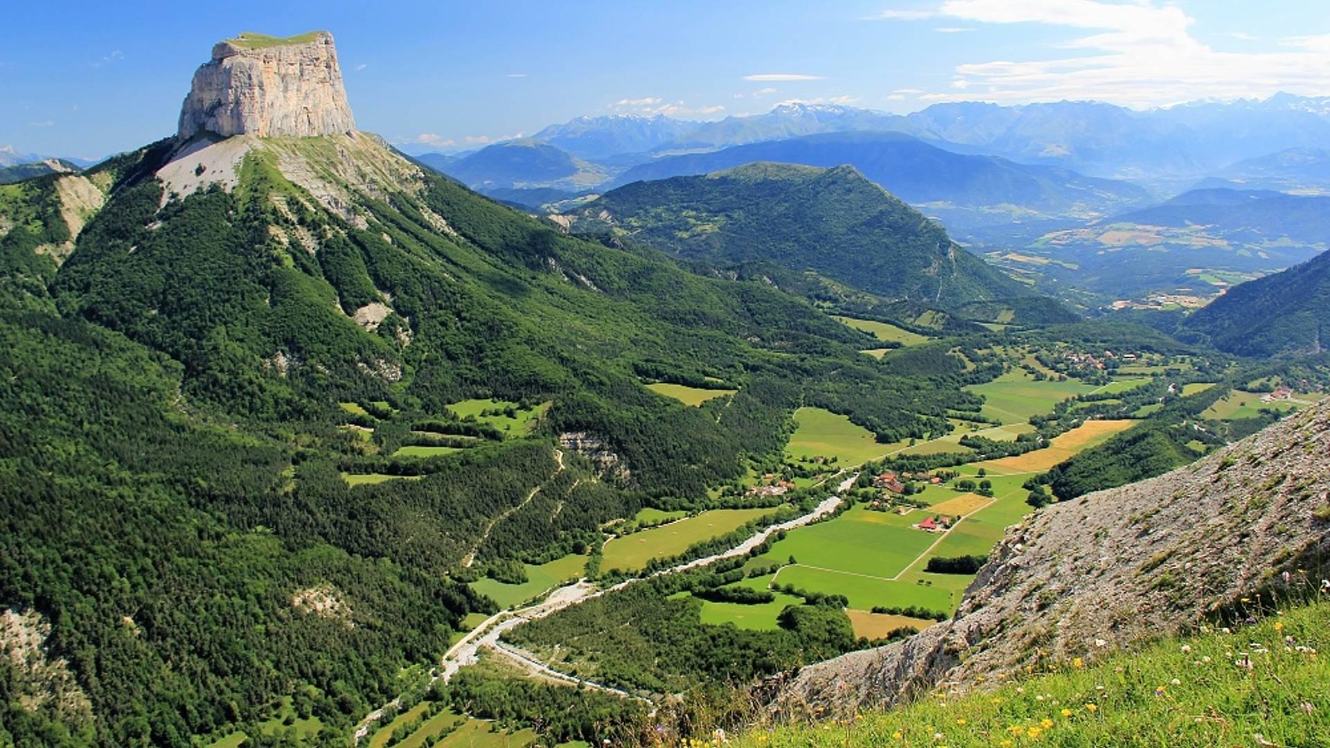 Randonnée dans le Vercorsentre Trièves et mont Aiguille