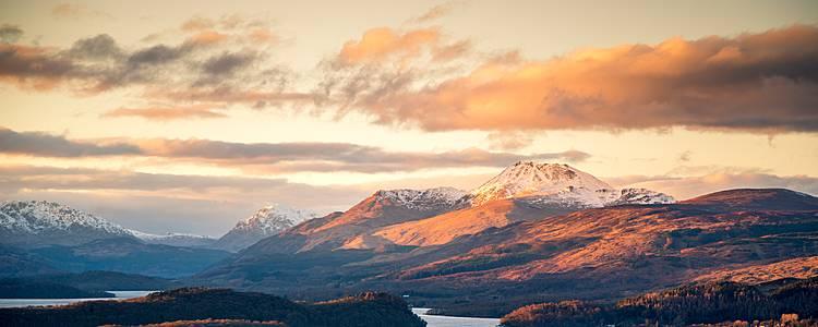Randonnée dans la vallée de Glencoe, île de Skye et Mont Ben Nevis, en petit groupe