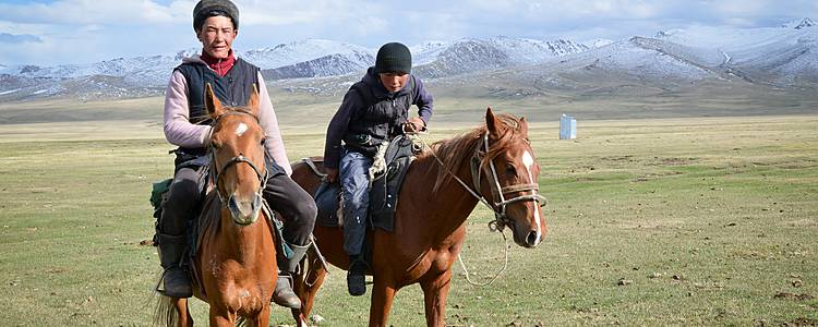 I tesori del Kirghizistan