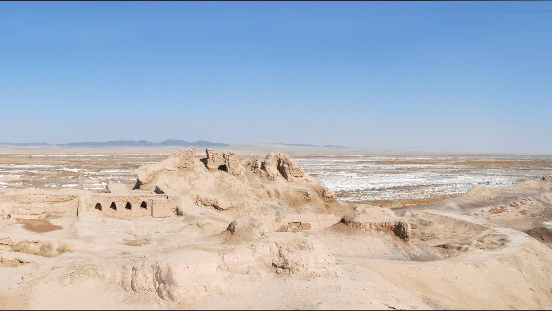 Sur les traces des empires nomades
