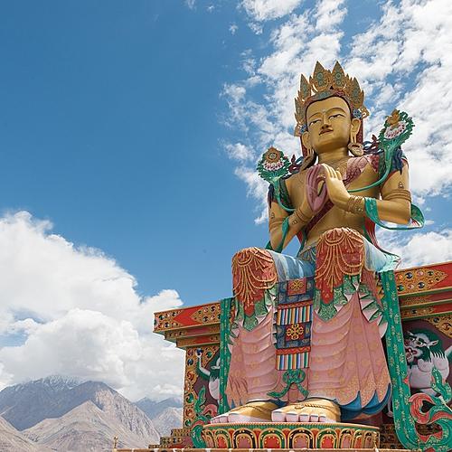 En juillet, festival d'Hemis au Ladakh et triangle d'or -