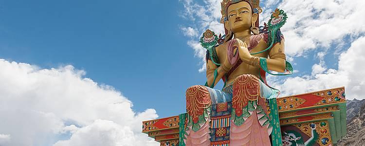 En juillet, festival d'Hemis au Ladakh et triangle d'or