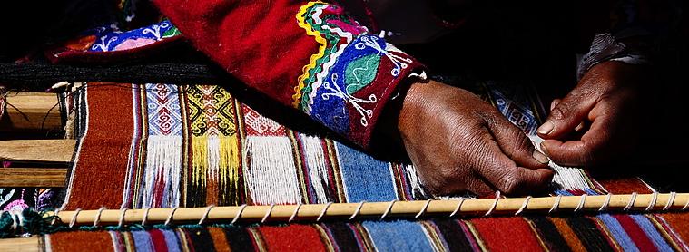 tissage culture peruvienne