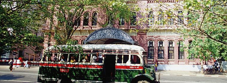 Transports Birmanie