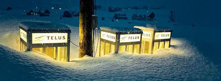 Cabines téléphoniques Canada