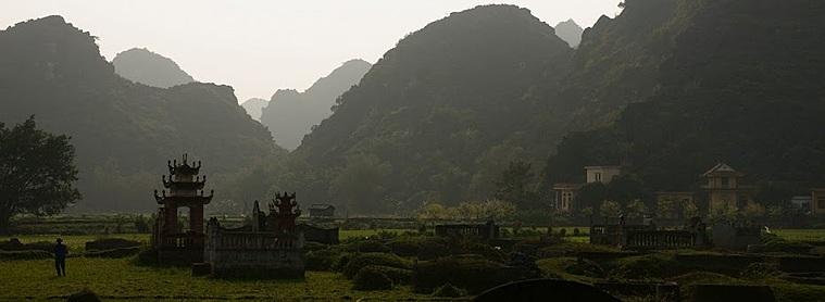 Les rizières de Ninh Binh