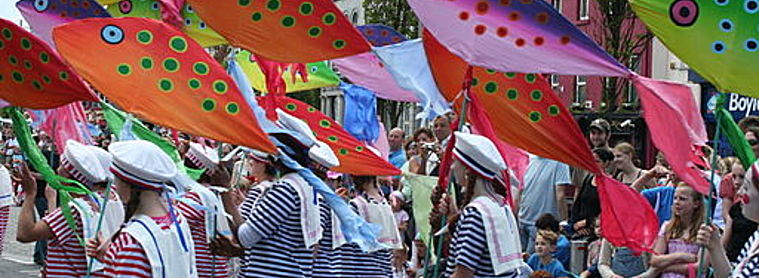 Galway Art Festival Parade