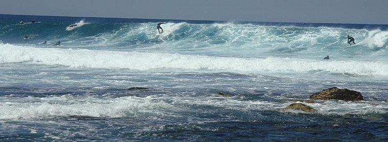 Surfer en Australie