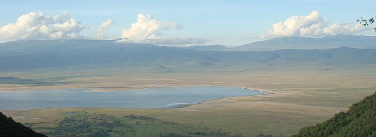 La cratère de Ngorongoro forme une protection naturel à son écosystème!
