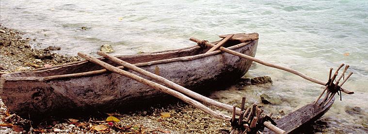 Canoë Polynésien