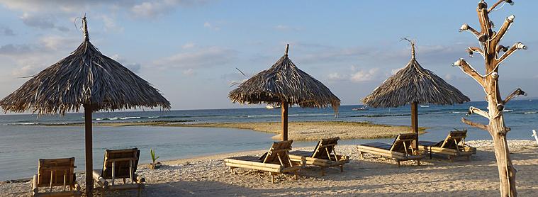 Les îles Gilis sont l'endroit parfait pour se détendre à la fin de son voyage !
