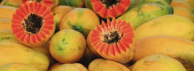 Papayes au royaume des jus de fruits !