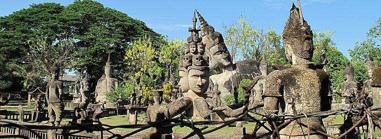 Bouddha Park, près de Vientiane