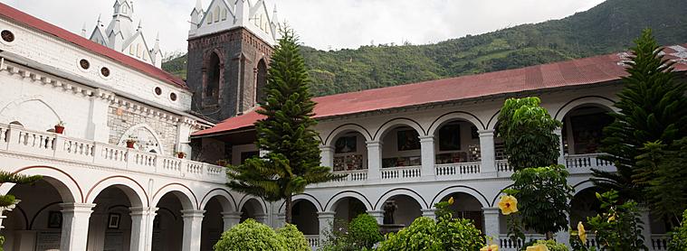 La basilique Nuestra Señora del Agua Santa, à Mindo !