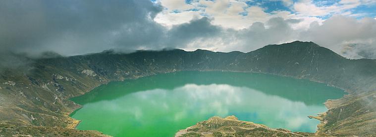 La Lagune de Quilotoa, un incontournable lors de votre voyage en Equateur !