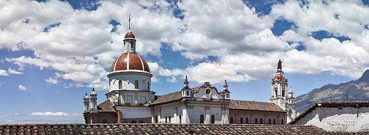 Ibarra, la ville blanche, capitale de la province de l'Imbabura en Equateur