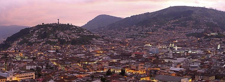 Quito, centre névralgique de l'Equateur !