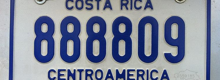 Modes de transport au Costa Rica