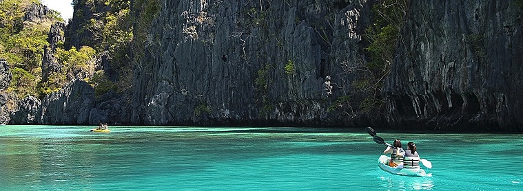 El nido, aux Philippines! Un petit paradis pour tout les amoureux de la nature et de l'eau turquoise !