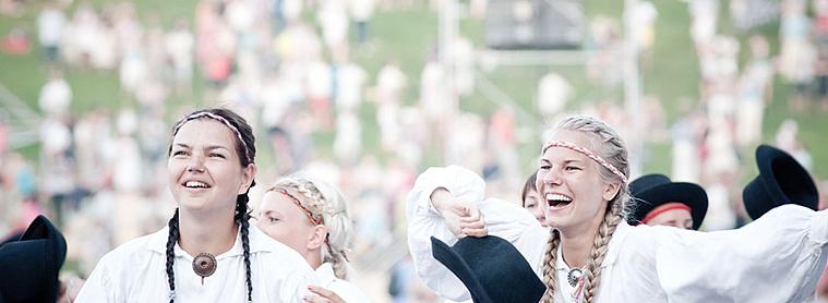 Le festival des chansons de Tallinn, un événement qui rassemble tout les estoniens !