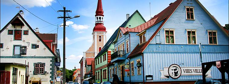 La jolie ville de Pärnu !