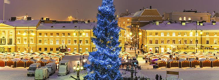 Un incontournable en Finlande ; Noël à Helsinki !