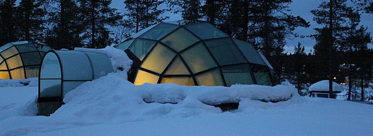 L'igloo : un hébergement insolite !