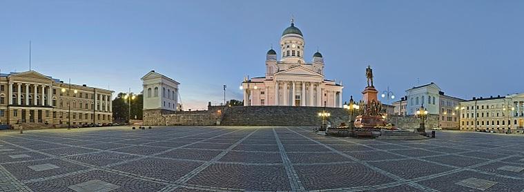 Le centre d'Helsinki