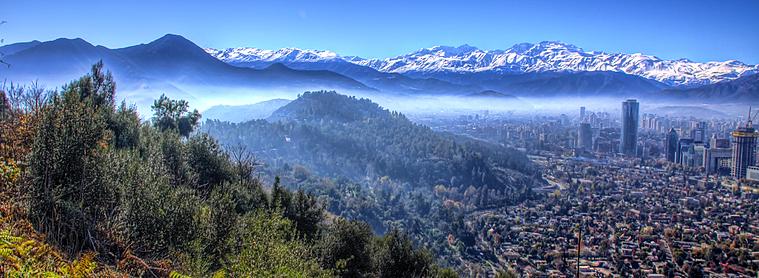 Santiago, capital du Chili !