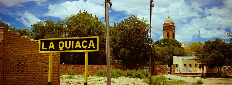 La Quiaca, ville frontière entre l'Argentine et la Bolivie !
