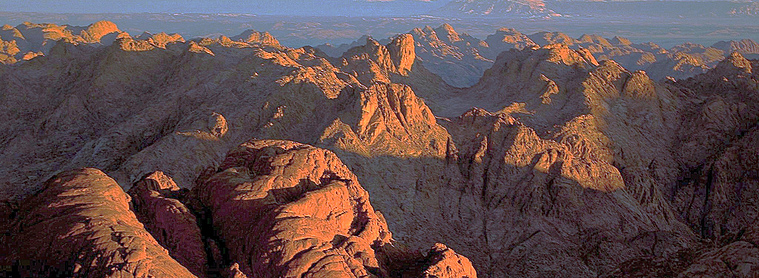 Le massif de Sainte Catherine, dans le Sinaï