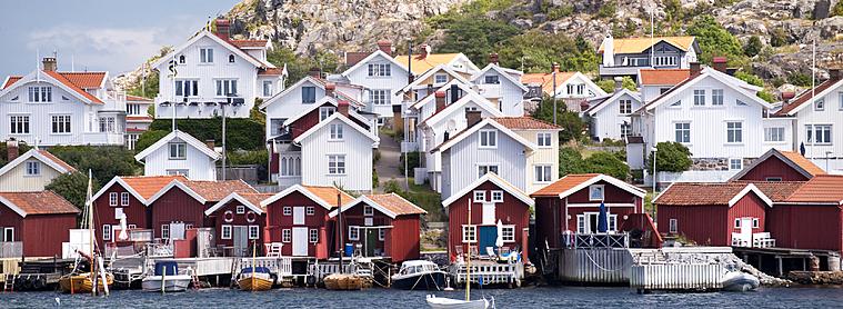 Les paysages du Nord, la Suède
