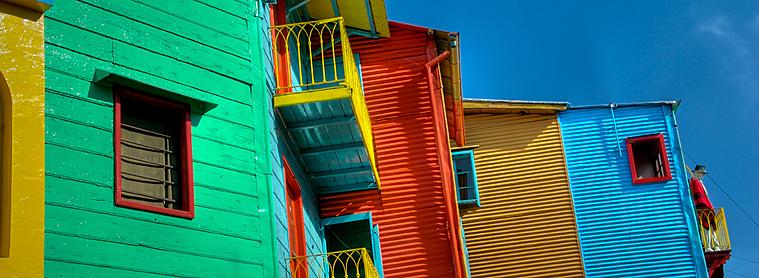 Buenos Aires, une ville typiquement haute en couleurs !