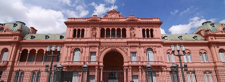 La maison rouge de Plaza del Mayo, un incontournable de l'Argentine !