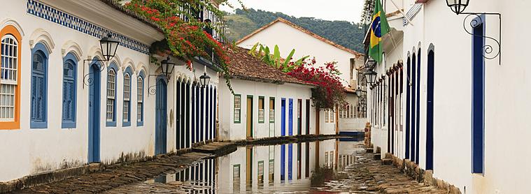 Les rues de Paraty, Brésil
